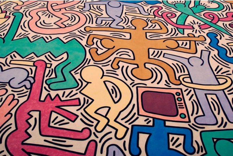 KEITH HARING: THE POLITICAL LINE - San Francisco