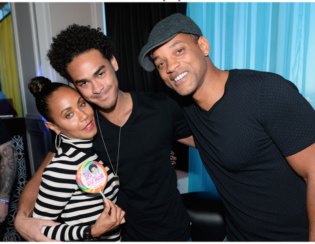 "Jada Pinkett Smith, on blended families!    ""When I married Will, I knew Trey was part of the..."