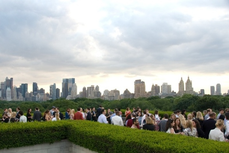 Artful Rooftop Bar at the Metropolitan Museum of Art - NYC