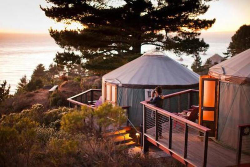 The Bay Area's Best Glamping. Costanoa Lodge in Pescadero, CA